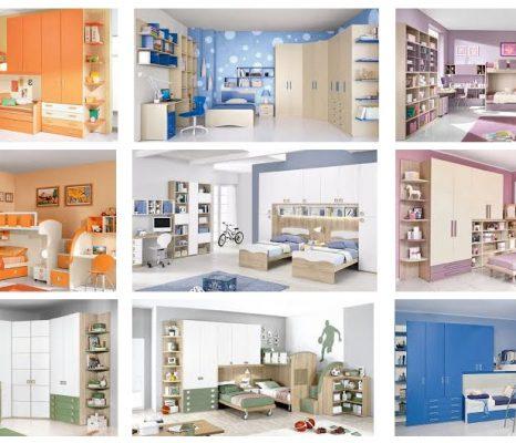 Camerette per ragazzi: colore e funzionalità