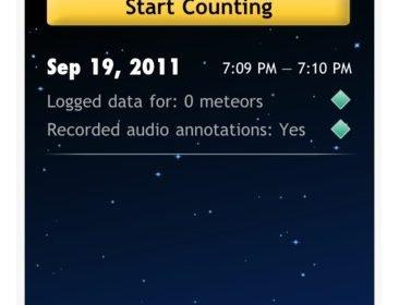 App per contare le stelle cadenti