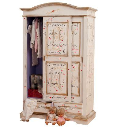 """Shabby Chic mobili artistici di Castagnetti: """"quadri da usare"""""""