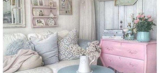 Come scegliere mobili shabby chic colorati