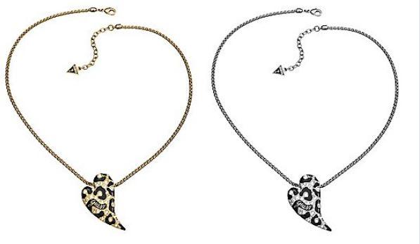 Gioielli Guess: collane, orecchini e bracciali a cuore