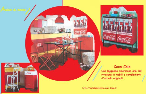 Arredare Vintage: Coca Cola- British Style-Chocolat Menier, 3 idee originali