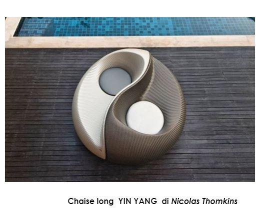 Chaise long YIN YANG di Nicolas Thomkins
