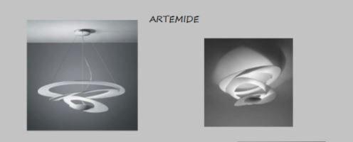 Artemide: lampade lampadari e punti luce per illuminare e arredare