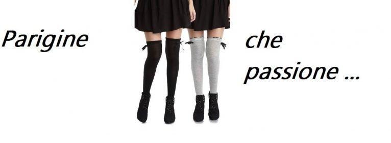 Le parigine: come indossare calze alla moda