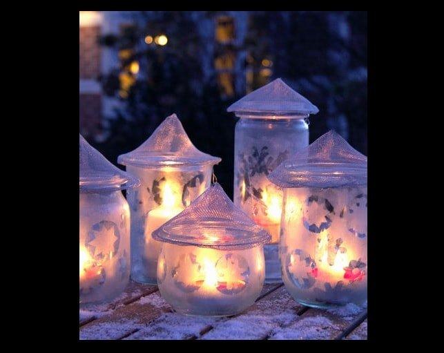 Come fare lanterne natalizie fai da te: Tutorial