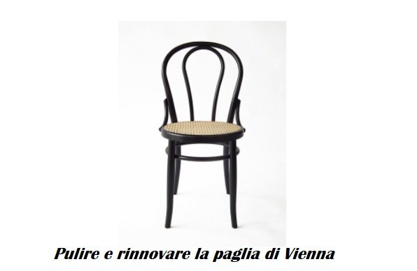 Come pulire le sedie in paglia di Vienna