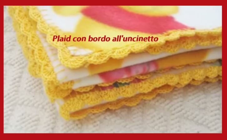 Coperte All Uncinetto Di Lana.Uncinetto Come Bordare Un Plaid O Coperta Tutorial Regali E