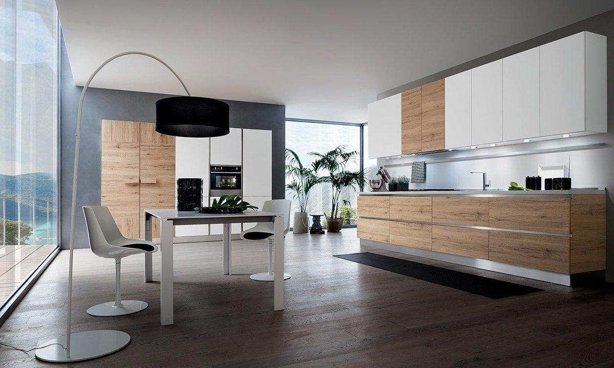 Cucina: quando il legno si unisce al design contemporaneo - Notizie ...