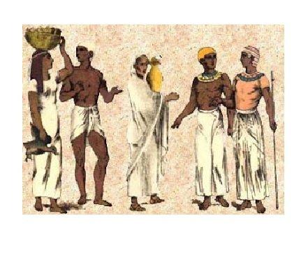 Abbigliamento nell antico Egitto  come si vestivano gli Egizi ... 80c666aea6d