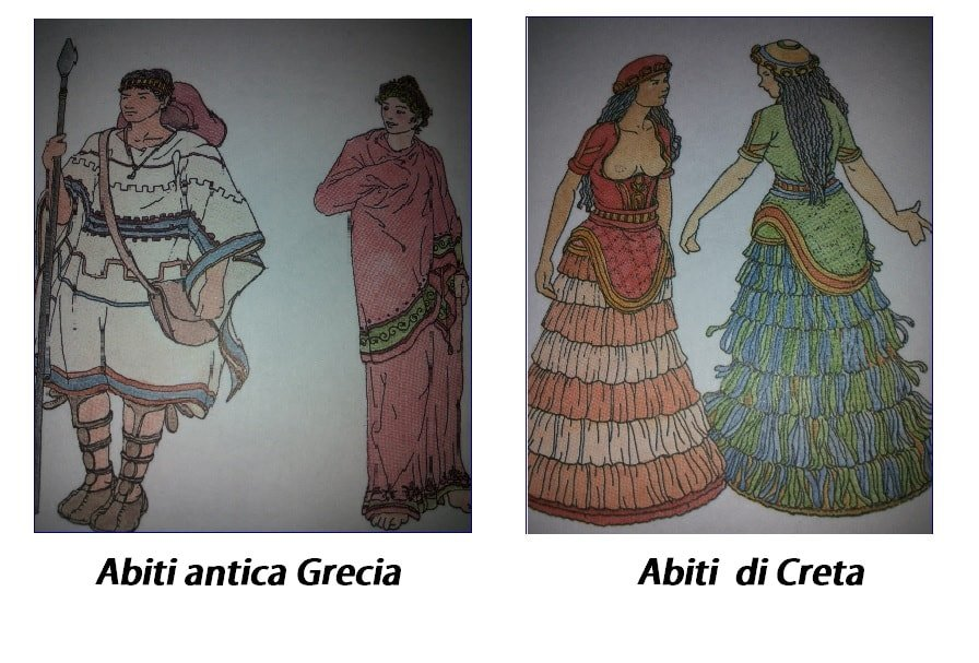 Abbigliamento nell'antica Grecia e nell'antica Creta: come si vestivano i greci