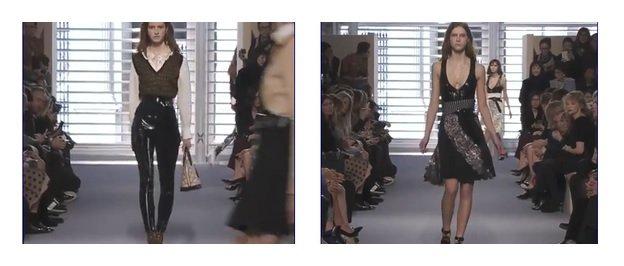 Louis Vuitton collezione donna F/W 2014 2015 video sfilata