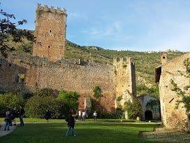 "Giardino di Ninfa Doganella ""monumento naturale"" Latina"