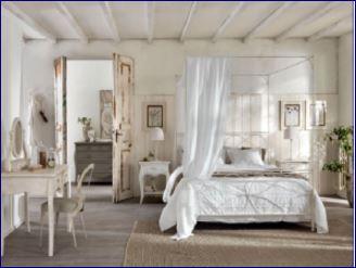 Camera Da Letto Stile Anni 80 : Shabby chic: camera da letto stile caldo e romantico notizie in