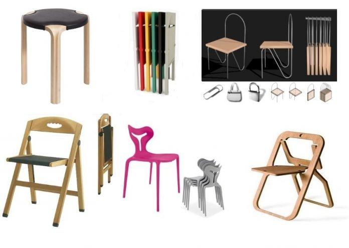 sedie impilabili di design