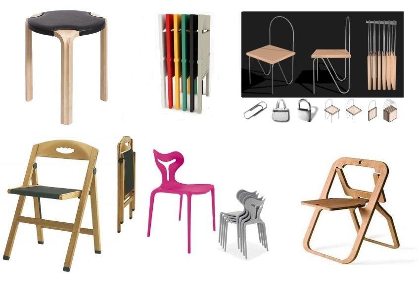 Sedie Pieghevoli Di Design.Sedie Pieghevoli E Tavoli A Consolle Guadagnare Spazio Notizie