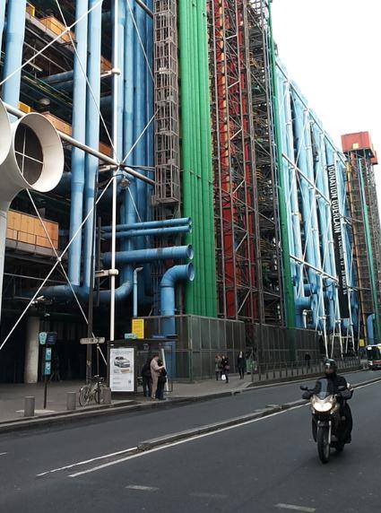 centro pompidou parigi