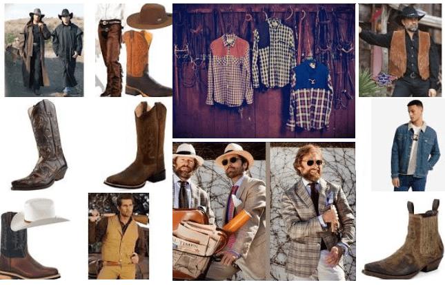 Abbigliamento Country per uomo