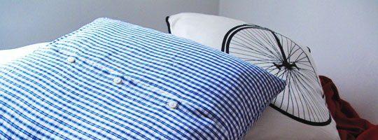Riciclare una camicia realizzando un cuscino