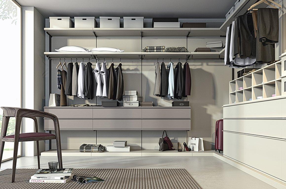 Camera da letto e cabine armadio spazio funzionale notizie in vetrina - Camere da letto con cabina armadio angolare ...