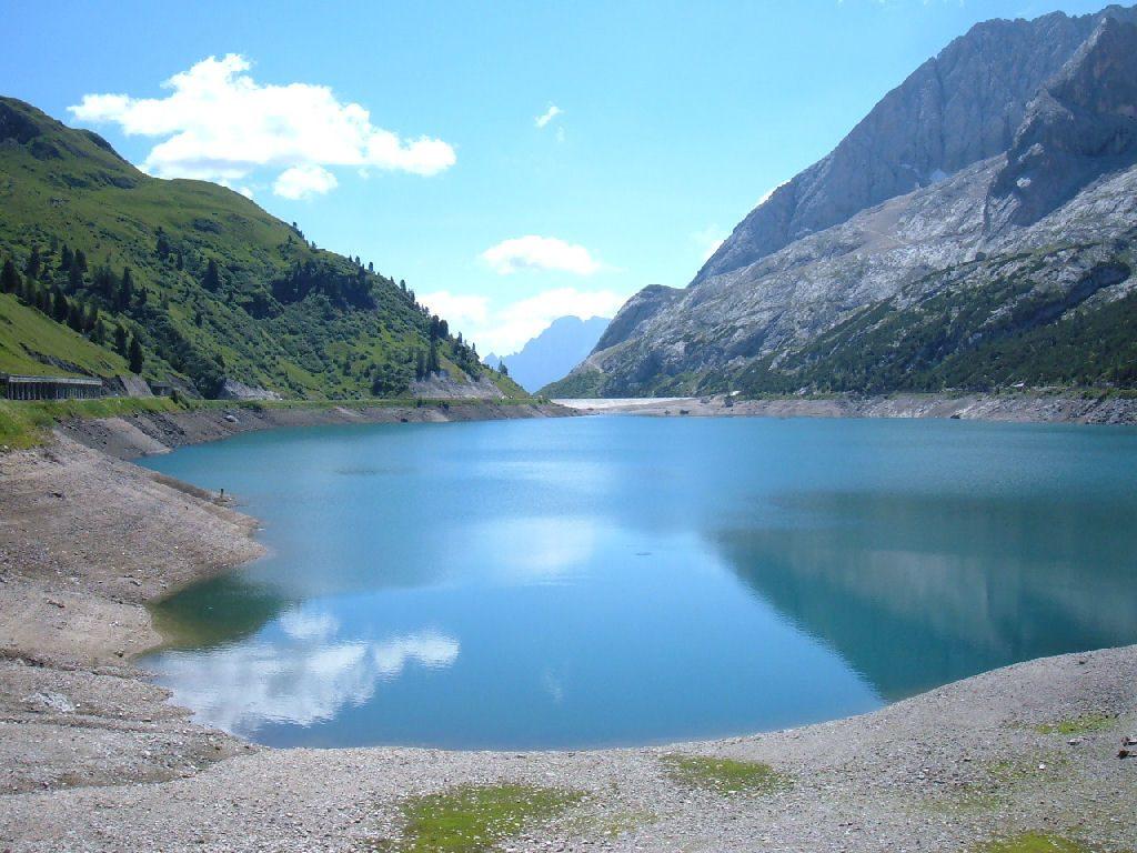 Paesaggio di lago significato e i laghi italiani