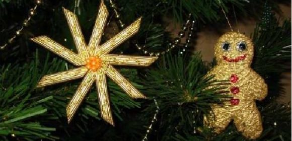 Come addobbare un albero di Natale con la pasta