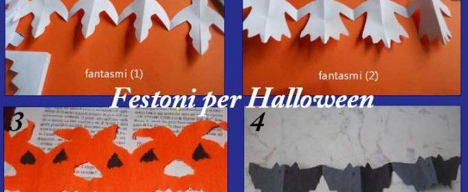 Come fare 4 festoni diversi per Halloween con la carta