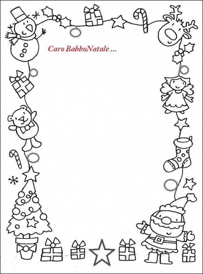 Letterina Per Babbo Natale Moderne E Antiche Da Scaricare