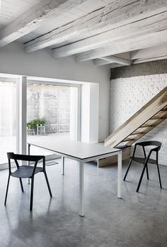 Come sbiancare un soffitto con le travi in legno - Notizie in Vetrina Magazin...