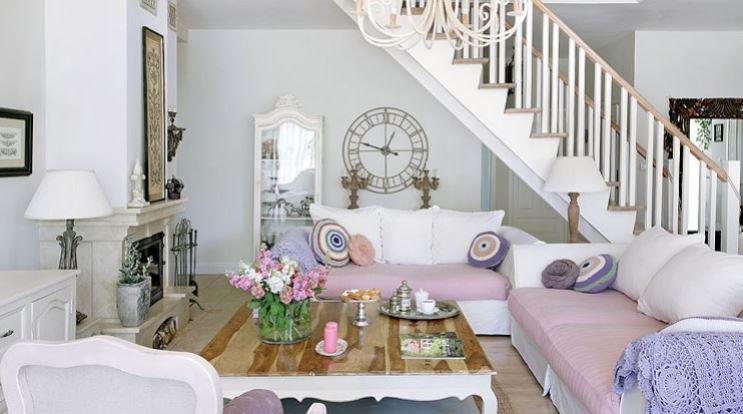 Arredare un soggiorno stile shabby chic: scelte d ...