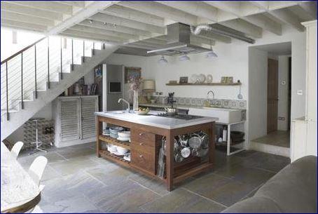 scala interni stile francia
