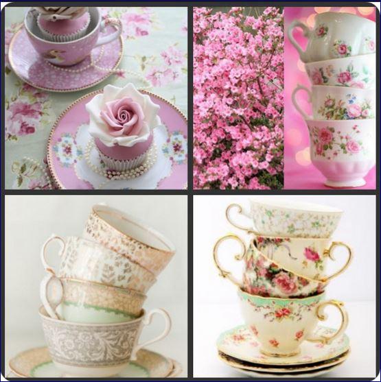 5 idee shabby chic teiere e tazze per l'angolo dolce e romantico