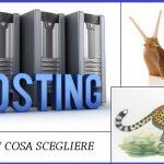 Blog numero di visite velocità di caricamento ed hosting
