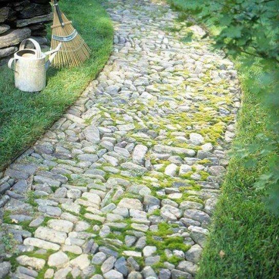 Viali per giardini - Pietre camminamento giardino ...