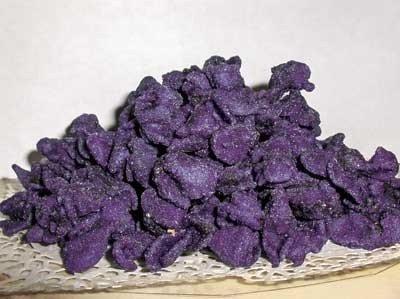 Violette e primule candite: dolcezze e delizie fiorite