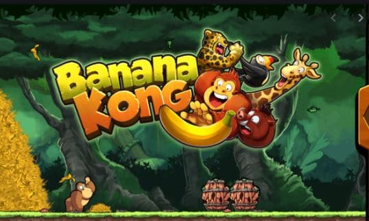 Banana kong scatti e salti games divertente