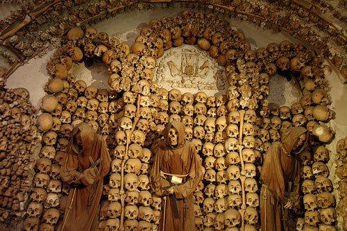 Chiesa dei cappuccini o chiesa degli scheletri di Roma