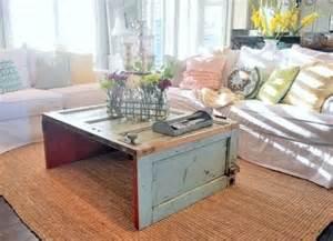 tavolino shabby con porta