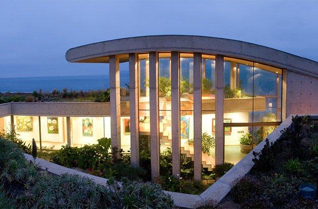 Architettura di lusso in Cile casa sul mare