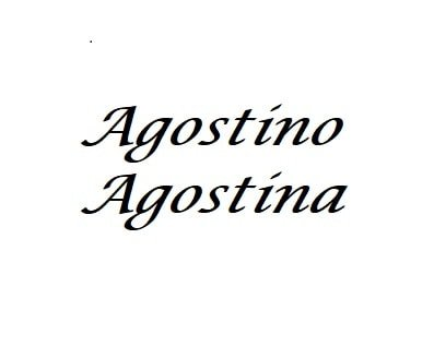 Agostino-Augusto: significato del nome onomastico e numerologia