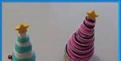 Realizzare i segnaposto di Natale ad alberello: tutorial