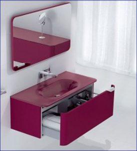 5 idee per strutturare ed arredare un piccolo bagno - Colore bagno piccolo ...