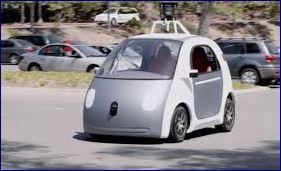 La macchina di Google che si guida da sola
