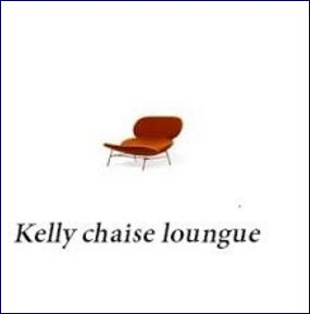 poltrona kelly chaise loungue