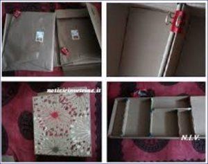 scatole e quadri