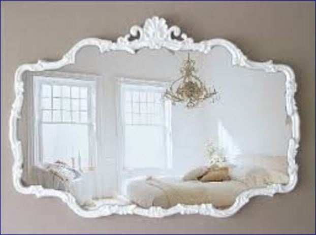 Come scegliere lo specchio shabby chic 5 consigli e foto - Specchio ovale shabby chic ...