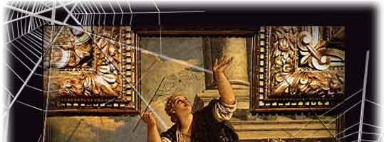 Il mito della tela di Aracne