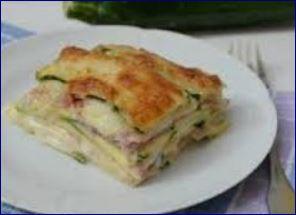 parmigiana bianca patate e zucchine