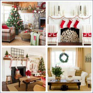 casa natalizia ed accessori