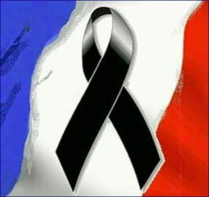 francia a lutto
